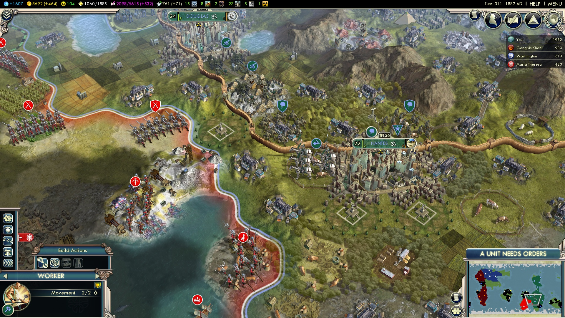 Now Playing: Civilization 5: Gods and Kings – DualAnalog com